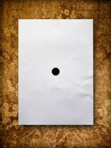 Черная точка